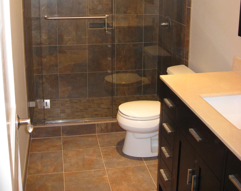 Slate Style Bathroom